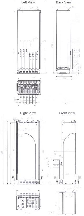 ACS 800-U4 Module R8 Frame Size�