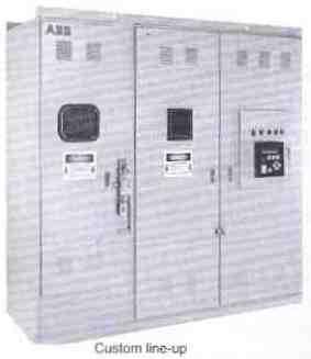 ABB Soft Starters Custom Line-Up - Type SSM, Medium Voltage 2300 - 13,800V.