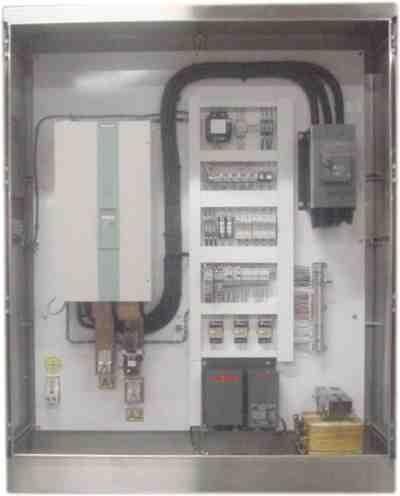 Variable Speed DC Drive cabinet.