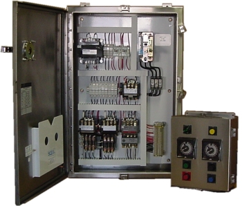 AC Control Panel and Operator Station.