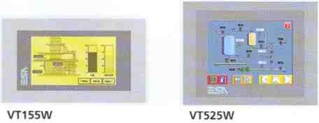 Commander SK Human Machine Interface (HMI) VT155W and VT525W.