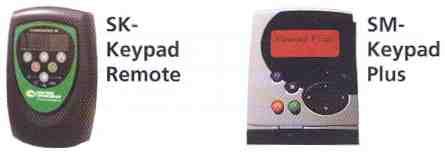 SK- Keypad Remote and SM- Keypad Plus