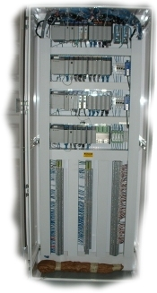 Custom PLC (Programmable Logic Controller) manufactured by Joliet Technologies.