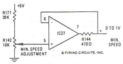 FIGURE 5. 1679/1681 DC MOTOR CONTROL. MINIMUM SPEED CIRCUIT