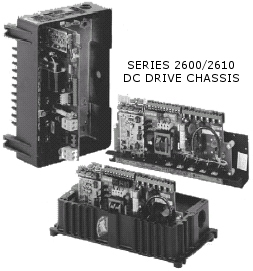 Fincor Series 2600/2610 DC Drive Chassis