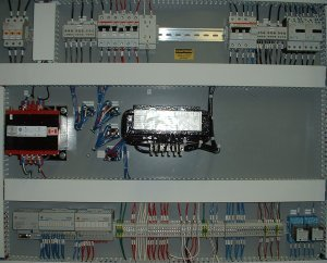 Frontier Drilling DC (SCR) Drive Control Panel.