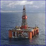 Frontier Driller Offshore Oil Rig