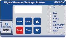 Magnetek HRVS-DN Medium Voltage Soft StartersInteraction LCD Display