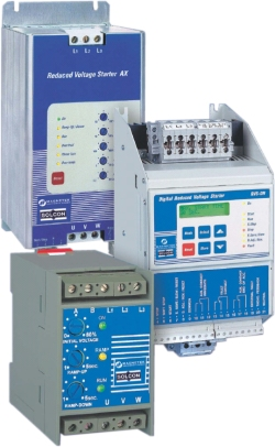 Magnetek Reduced Voltage Soft Starters - RVS-DN, RVS-AX & RVS-ST.