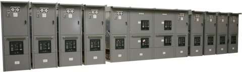 Neptune Marine Oil & Gas  10 DC Variable Speed Drives & 2 Feeder Cabinet Line-Up.