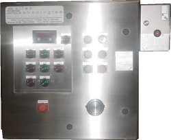 Purged oprator w/window kit for digital meter and pilot lights. Manufactured for TechZone Oilfield Engineering.