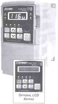 Saftronics - CV10 - Compact Vector AC Drive w/Optional LCD Keypad.