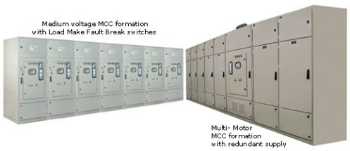 Solcon medium voltage soft starters in formation