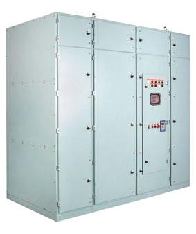 Solcon medium voltage soft starter Range:10000-13800V, 30-2700A