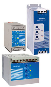 Solcon SOLSTART Miniature Soft Starter For AC Motors 4-37KW, 220-600V