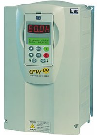WEG CFW09 AC Variable Frequency Drives (1HP to 500HP)